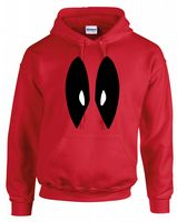 DP EYES HOODIE - INSPIRED BY DEADPOOL